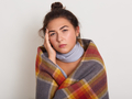 Feeling cold from an underactive thyroid gland