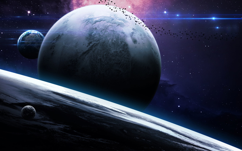 An artistic vision of a new planet / 123RF / PICSEL