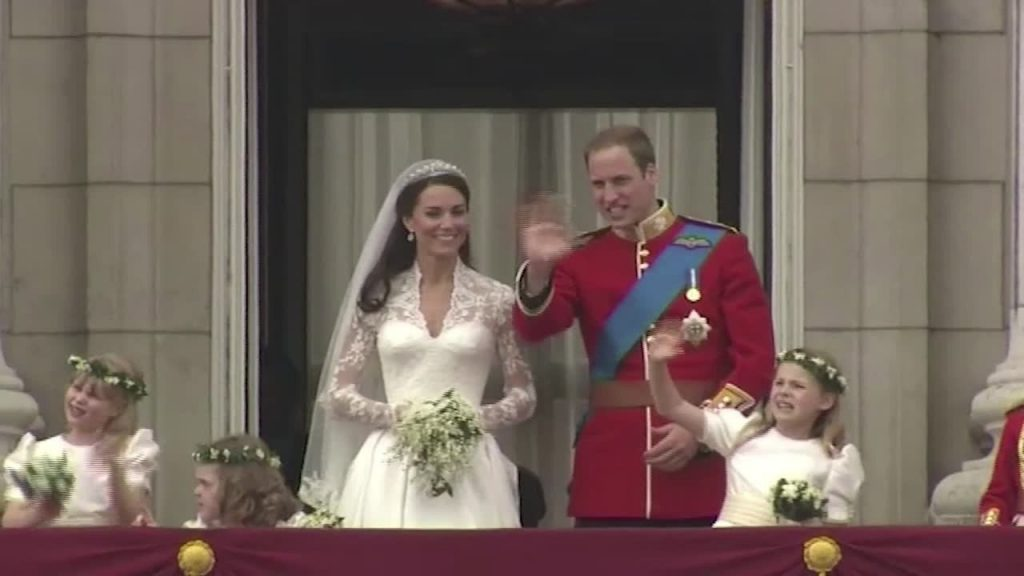 10th wedding anniversary of Prince William and Kate.  It was April 29, 2011