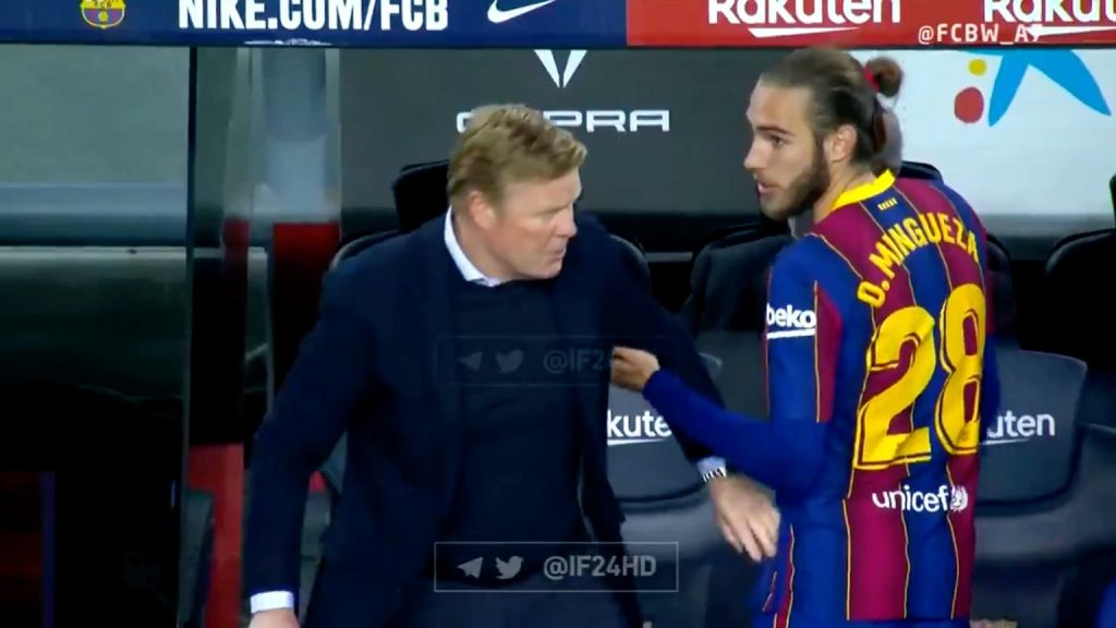 Barcelona wins high.  Koeman is angry at his player [WIDEO] Becca Nona