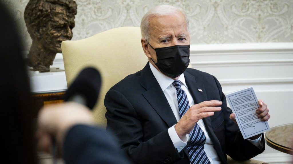 """United States.  Joe Biden sent an """"unofficial"""" delegation to Taiwan"""