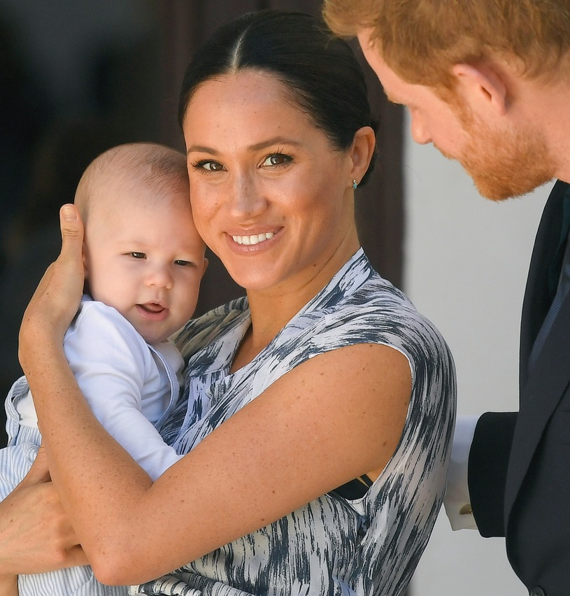 Megan, Harry May Archie / Samir Hussein / Getty Images