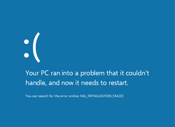 Windows 10 and post update issues.  Performance drop and blue screen shots