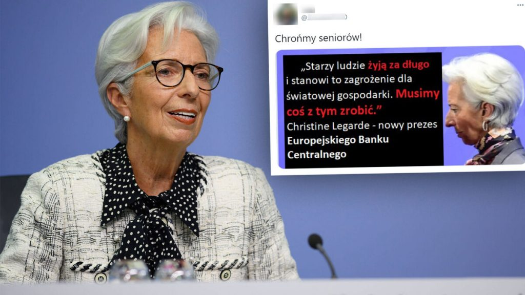 """European Central Bank President said that """"the elderly live long""""?  There is no evidence for this"""
