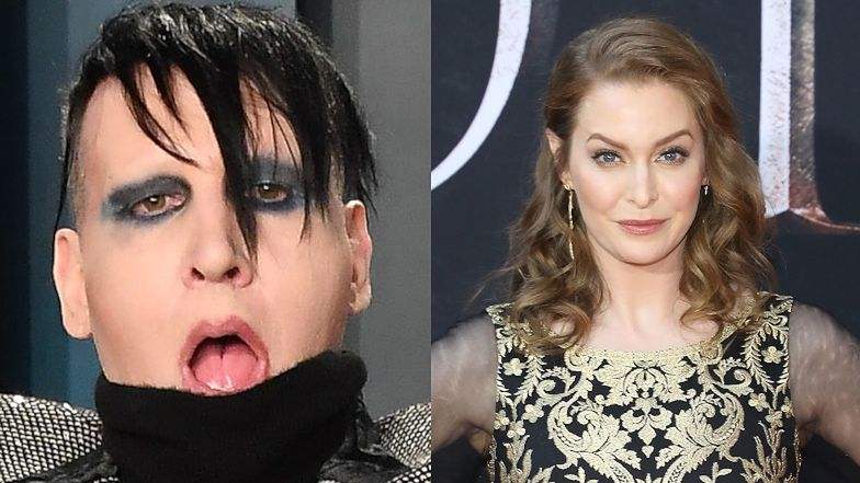 Marilyn Manson accuses the star of the series Game of Thrones of rape!  The musician was supposed to be stalking her with SIEKIERA