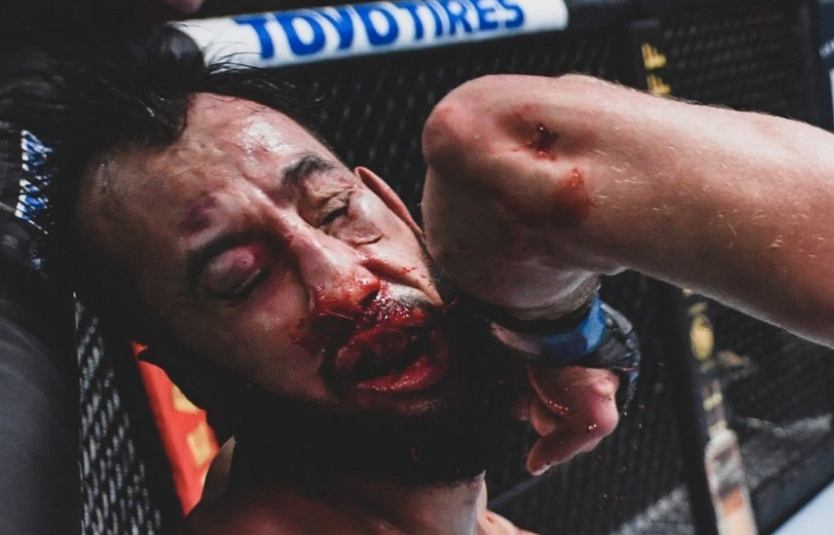 Sensation in the UFC evening fight!  Knockout shock.  phenomenon [WIDEO]