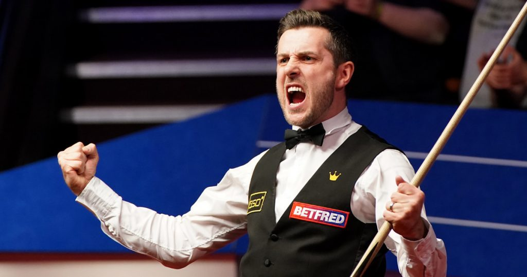 Snooker.  world Cup.  crucible.  Mark Selby defeated Sean Murphy