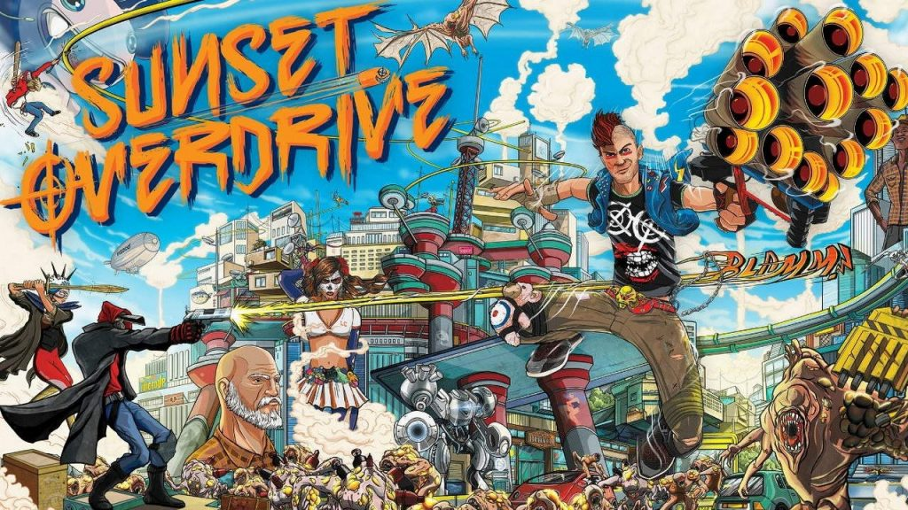 Sony records Sunset Overdrive